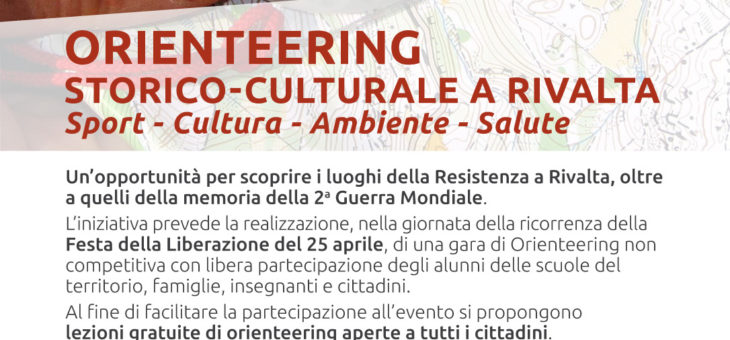 25 aprile: Orienteering Storico-culturale